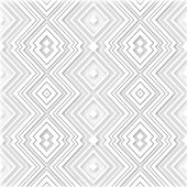 White Abstract Retro Zigzag Vector Background
