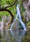 foto of darwin  - Darwin Falls at oasis in Death Valley National Park - JPG