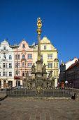 Plague Column, Pilsen, Czech Republic, 2014