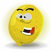Lemon Fruit Character