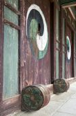 pic of andong  - Doors in a confucian academy in South korea - JPG