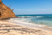image of papagayo  - Scenic view of the beach along the Golfo de Papagayo in Guanacaste Costa Rica - JPG