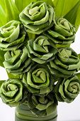Rose of Pandan leaf