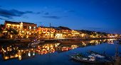 Hoi An town by night
