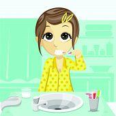 Girl Bathroom Activity