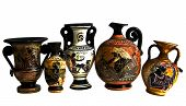 Antique Greek Amphoras