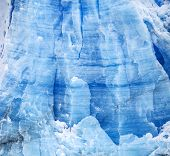 Blue Icy Background And Texture.