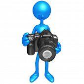 Holding A Camera