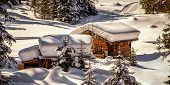 Chalet Under The Snow