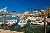 Old Harbor Of Stari Grad Hvar Island
