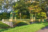 picture of tsarskoe  - Bridge across canal in Alexander - JPG
