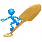 Shovel Surfing