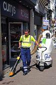 Street cleaner, Chester.