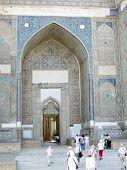 Samarkand Bibi-khanim Entrance 2007