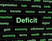 Deficit Debts Means Financial Obligation And Arrears