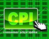 Consumer Price Index Means World Wide Web And Searching