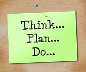 picture of reflection  - Think Plan Representing Strategy Reflecting And Reflection - JPG