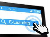 E Learning Indicates World Wide Web And College
