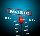 Music Max Represents Upper Limit And Audio