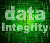 Integrity Data Means Virtuous Information And Honesty