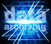 Data Archiving Shows Information Cataloguing And Archive