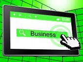 Business Online Represents World Wide Web And Company