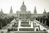 National Museum In Barcelona, Placa De Espanya, Palau Nacional, Spain