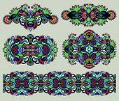 ornamental floral adornment for your design