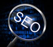 Seo Magnifier Represents Online Website And Optimization