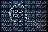 Focus, Magnifying Glass Design