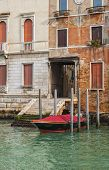 Beautiful Houses On The Grand Canal In Venice