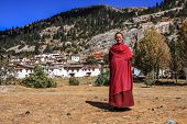 stock photo of tibetan  - Daocheng Sichuan China  - JPG