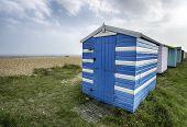 Beach Huts In Kent