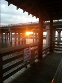 Sunrise at St. Tammany Parish Pier