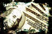 Grungy Money Background