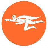 foto of valiant  - This is an illustration of superhero flight - JPG