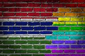 Dark Brick Wall - Lgbt Rights - Gambia