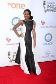 LOS ANGELES - FEB 6:  Melissa Grimmond at the 46th NAACP Image Awards Arrivals at a Pasadena Convention Center on February 6, 2015 in Pasadena, CA