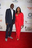 LOS ANGELES - FEB 6:  Glynn Turman, Jo-An Turman at the 46th NAACP Image Awards Arrivals at a Pasadena Convention Center on February 6, 2015 in Pasadena, CA