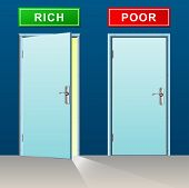 Rich And Poor Doors Concept