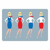 Stewardess Hostess