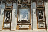 View Of Santa Maria Maggiore Basilica Wall In Rome