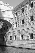 Bridge Of Sighs In Venice And Prisons