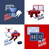Постер, плакат: Hockey Design Concept