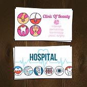 Medical Cards Set