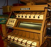 Modern equipment for sorting of tea,tea factory