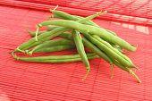 green string beans poster