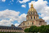 Dome of Les Invalides. Paris. France.