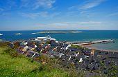 German Island Helgoland at North Sea