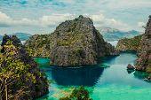 View Of Kayangan Lake In Coron, Philippines